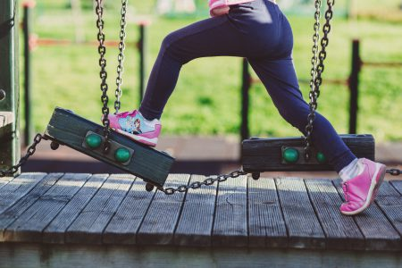Girl at the playground 2