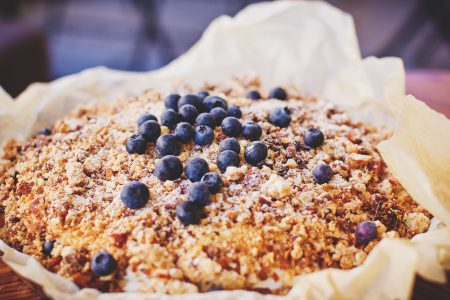 Blueberry pie 2 - free stock photo