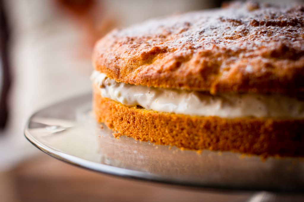 Carrot pie - free stock photo