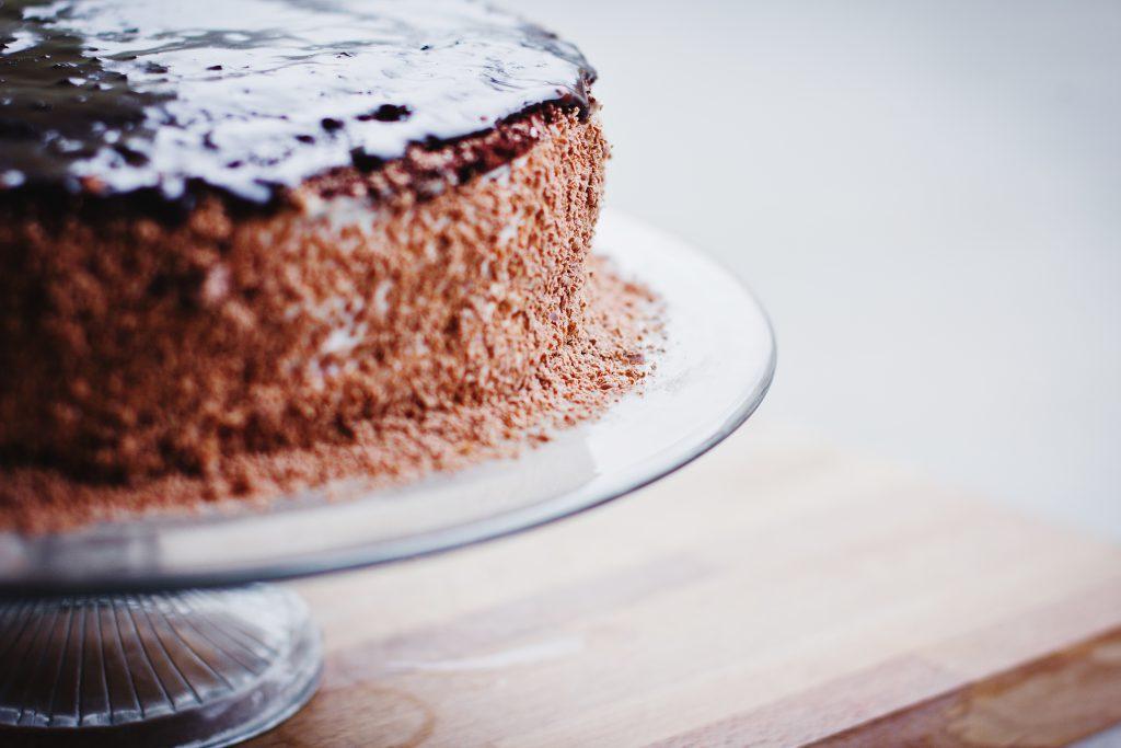 Chocolate cake - free stock photo