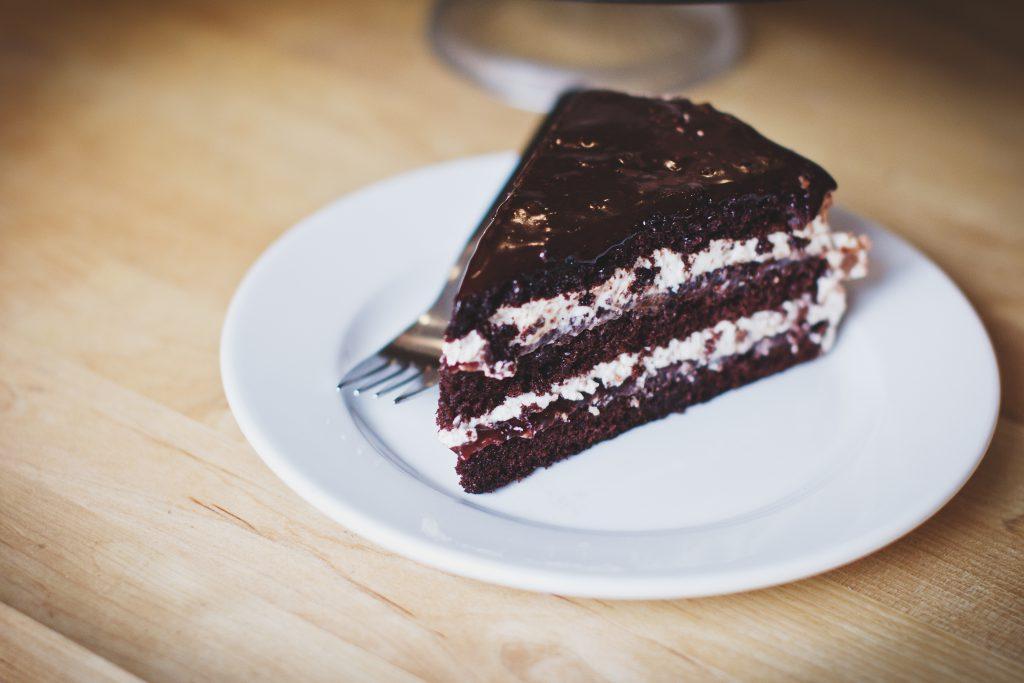 Chocolate cake 2 - free stock photo