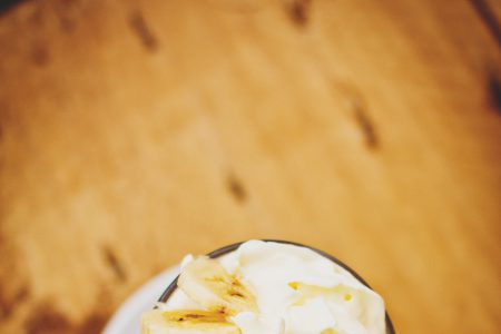 Banana dessert - free stock photo