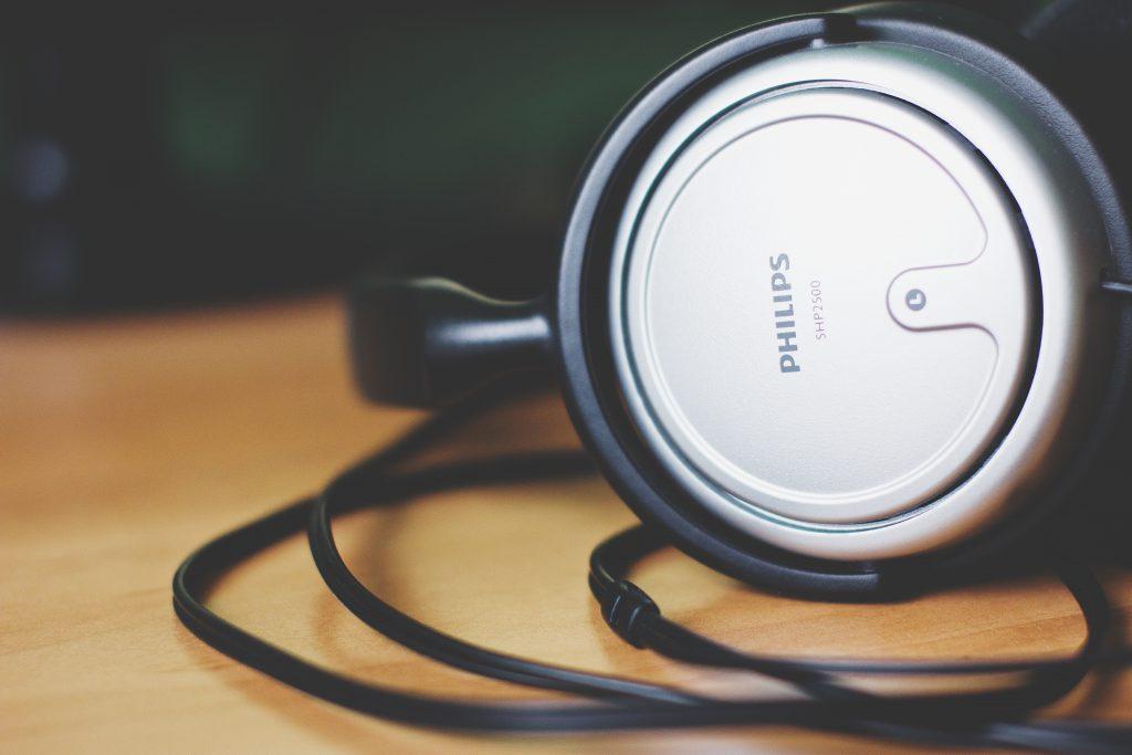 Headphones - free stock photo