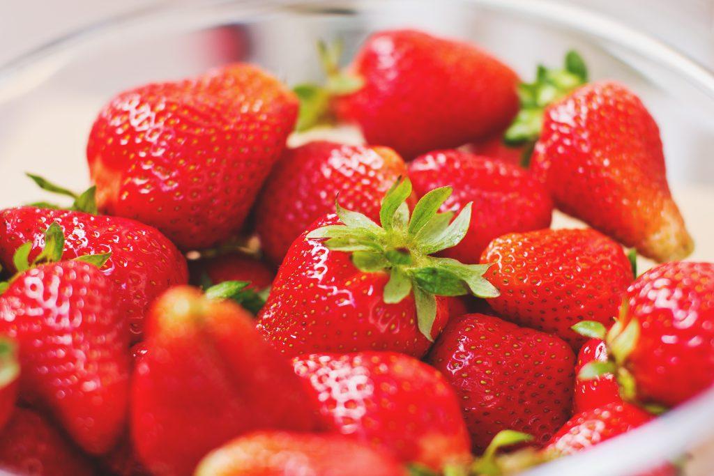 Strawberries - free stock photo