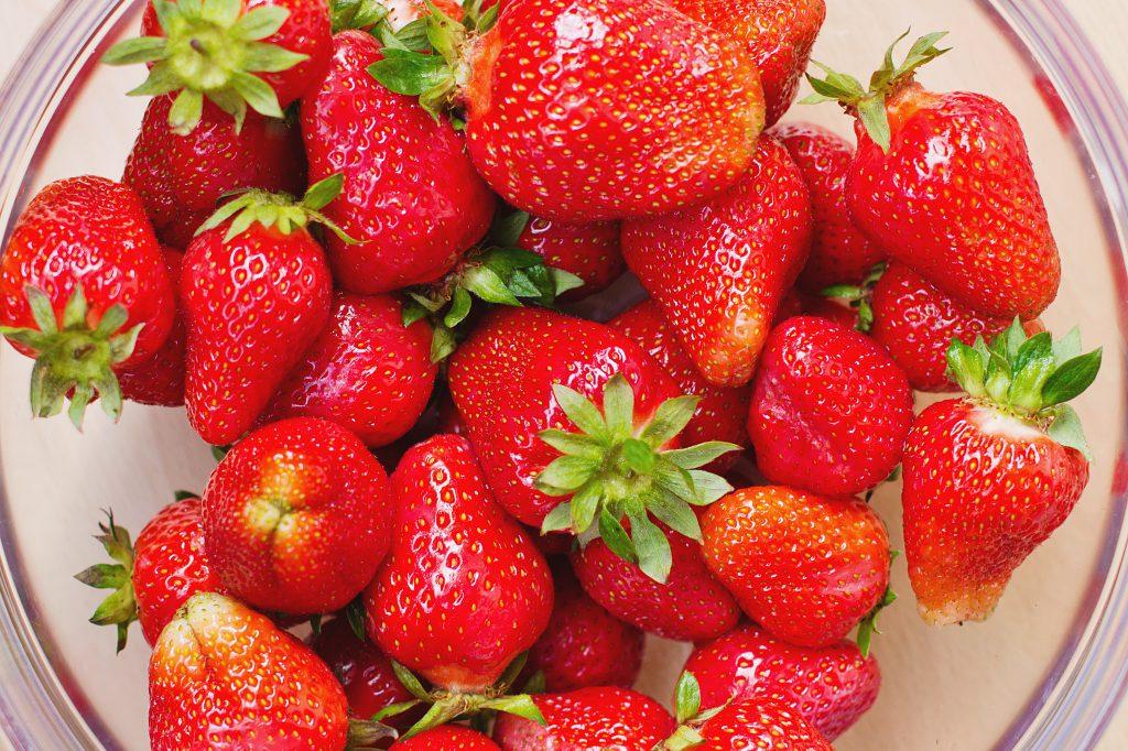 Fresh strawberries - free stock photo