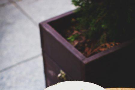 Refreshing cheesecake