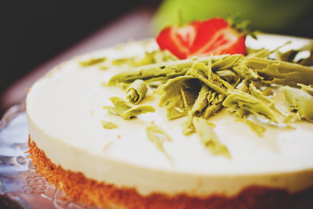 Lime cheesecake - free stock photo