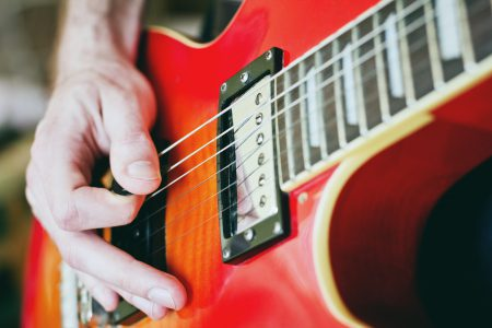Electric guitar - free stock photo