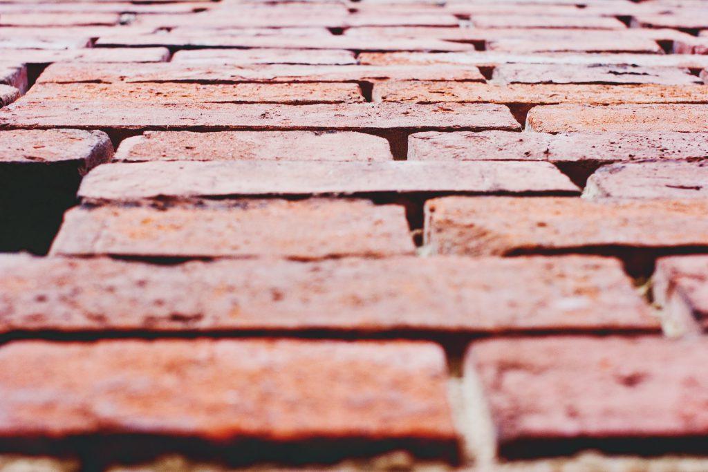 Old brick wall - free stock photo