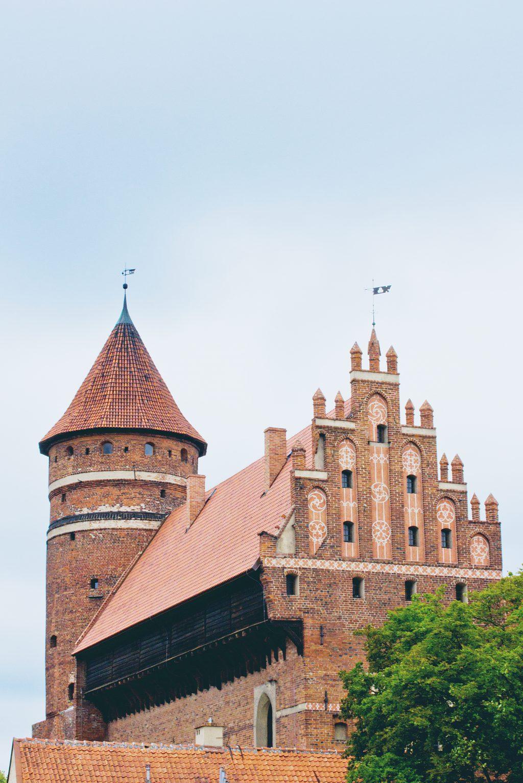 Castle in Olsztyn - free stock photo