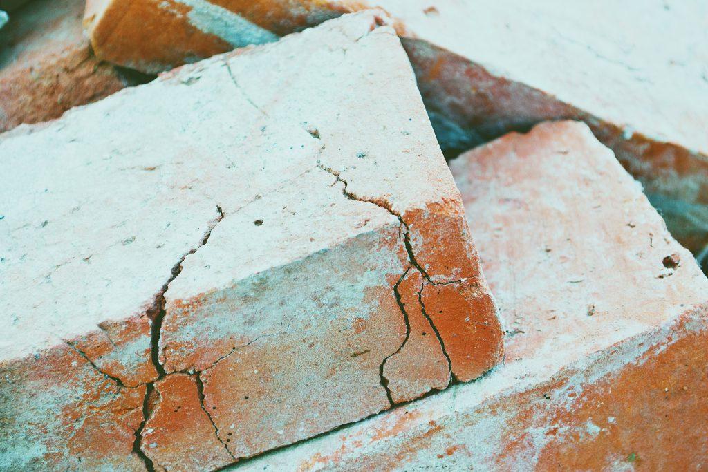 Red bricks - free stock photo