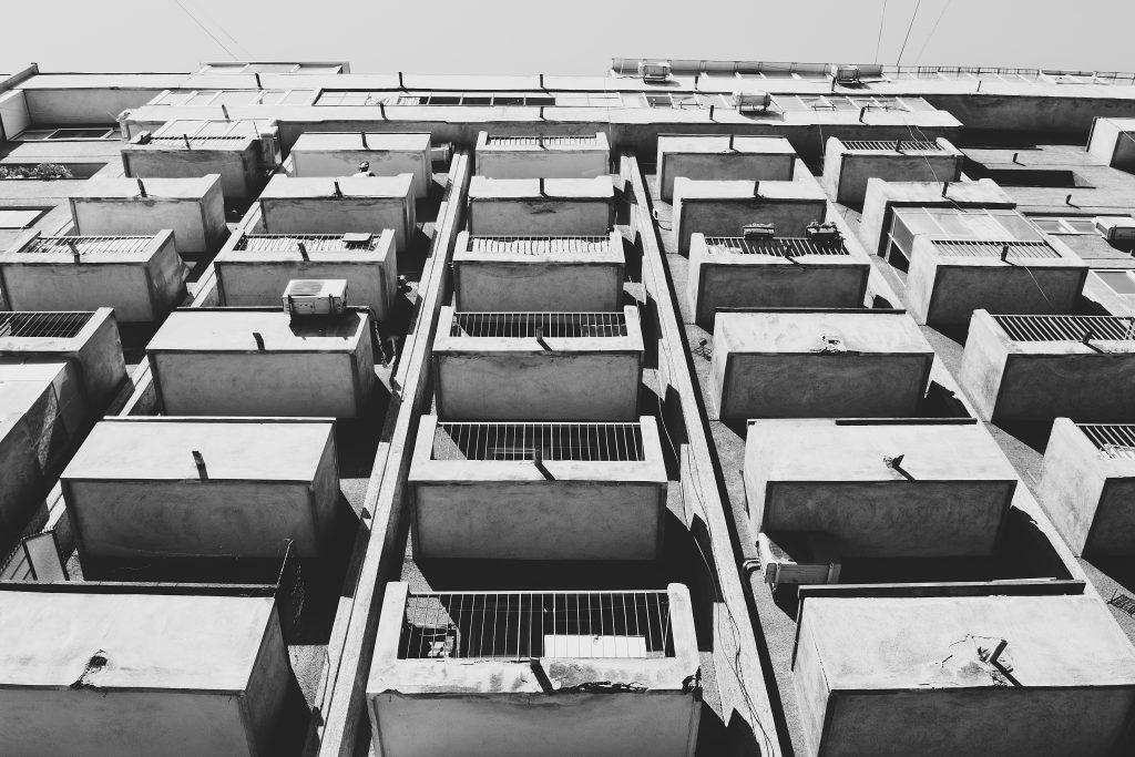Balconies - free stock photo