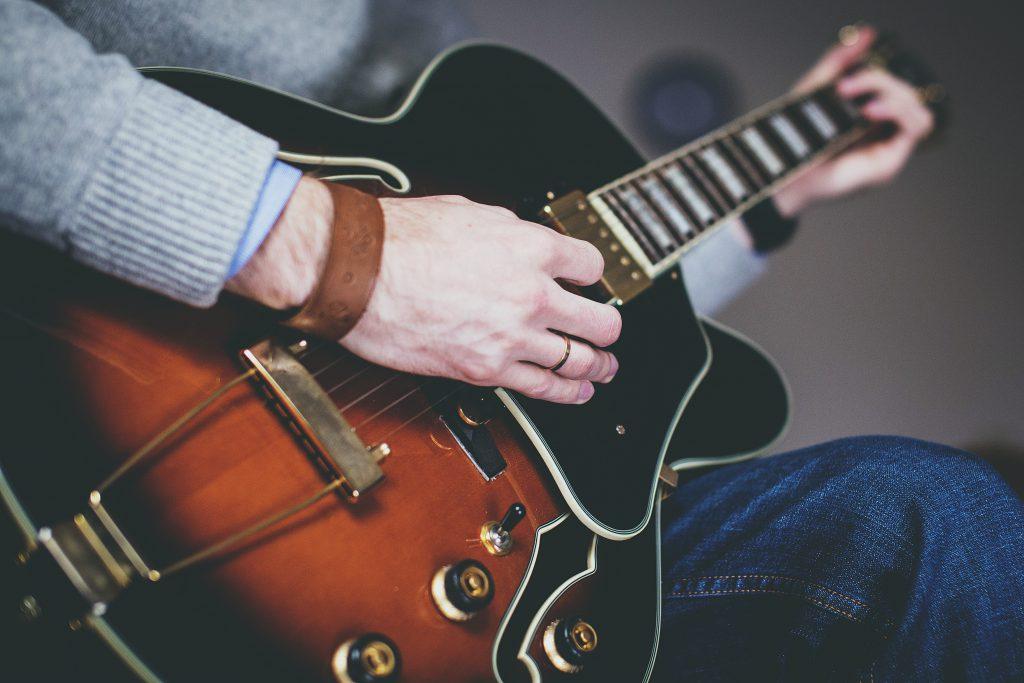Ibanez guitar - free stock photo