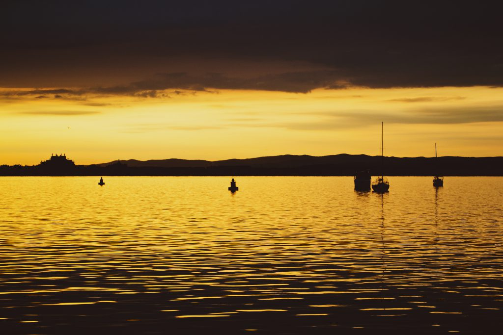 Sunset - free stock photo