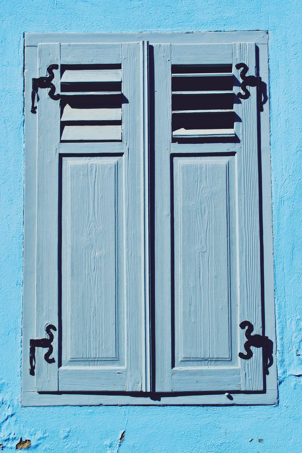 Colorful window - free stock photo