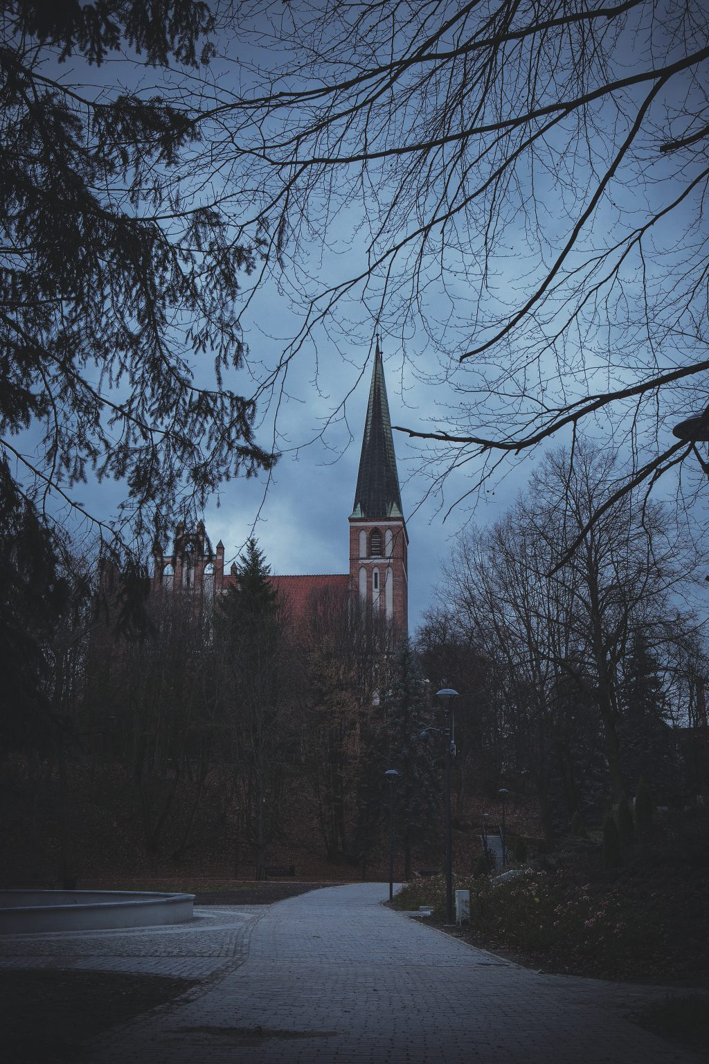 Catholic church in Olsztyn - free stock photo
