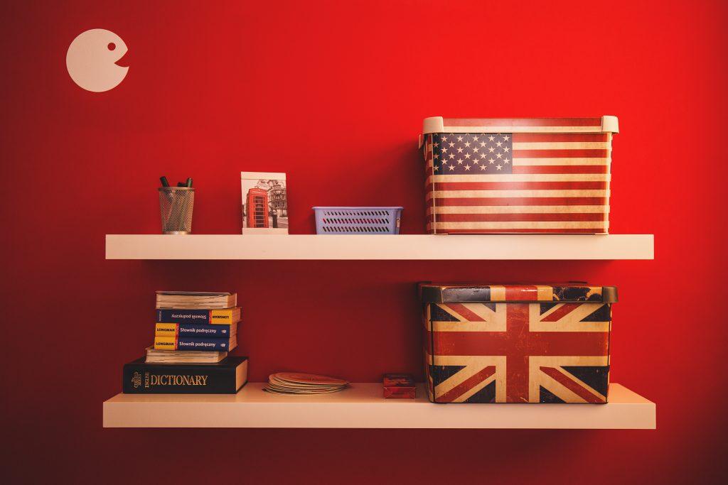 English boxes - free stock photo