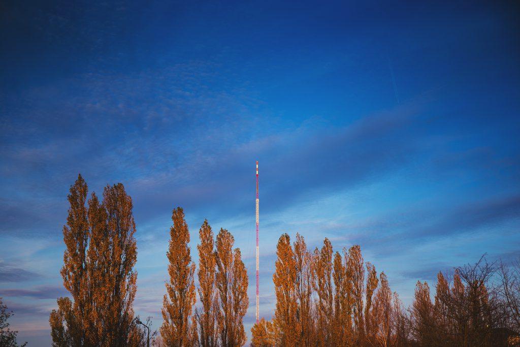 TV and FM mast in Olsztyn - free stock photo