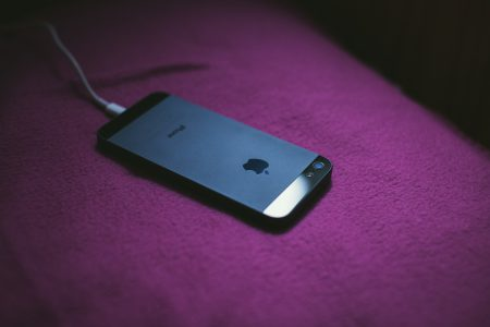 Charging iPhone 5 - free stock photo