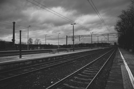 Railway station in Olsztyn - free stock photo