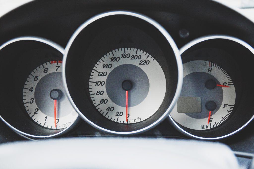 Car dashboard - free stock photo