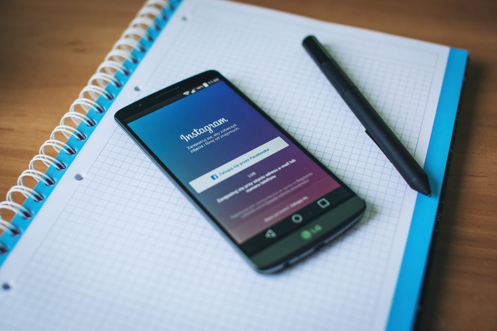 Instagram app on Android - free stock photo