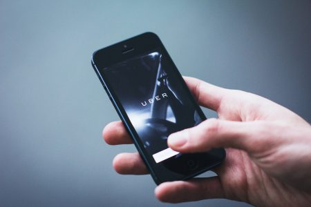 Uber App on iPhone - free stock photo