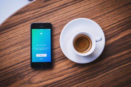 Twitter app 3 - free stock photo
