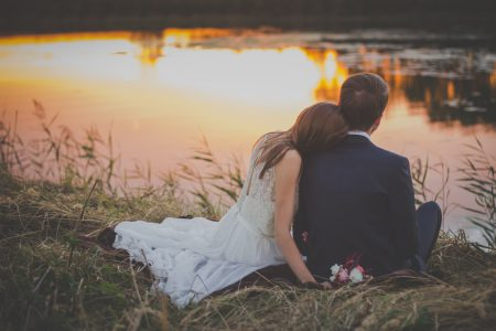 Just married - free stock photo
