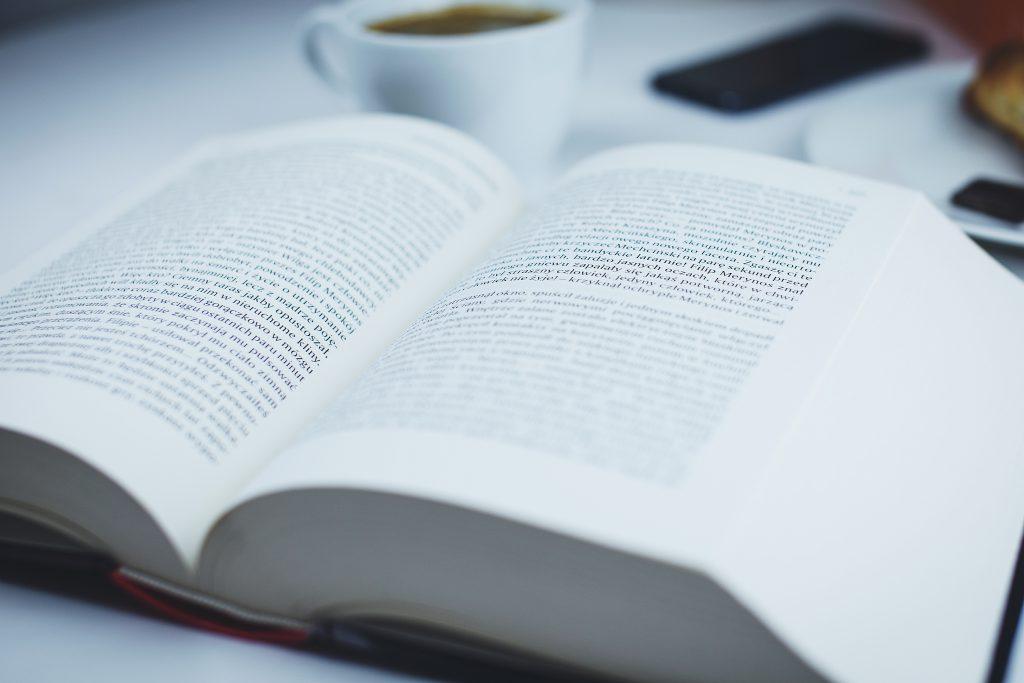 Open book - free stock photo