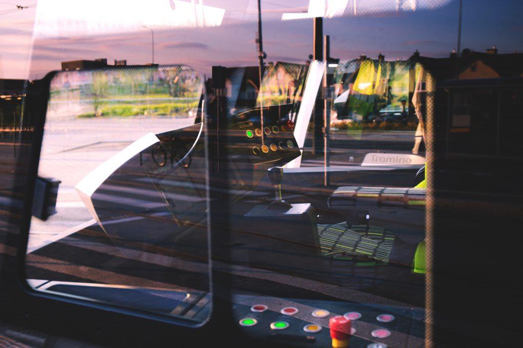 Tram cockpit - free stock photo