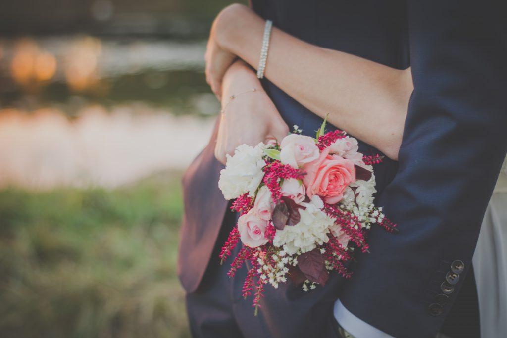 Wedding bouquet - free stock photo
