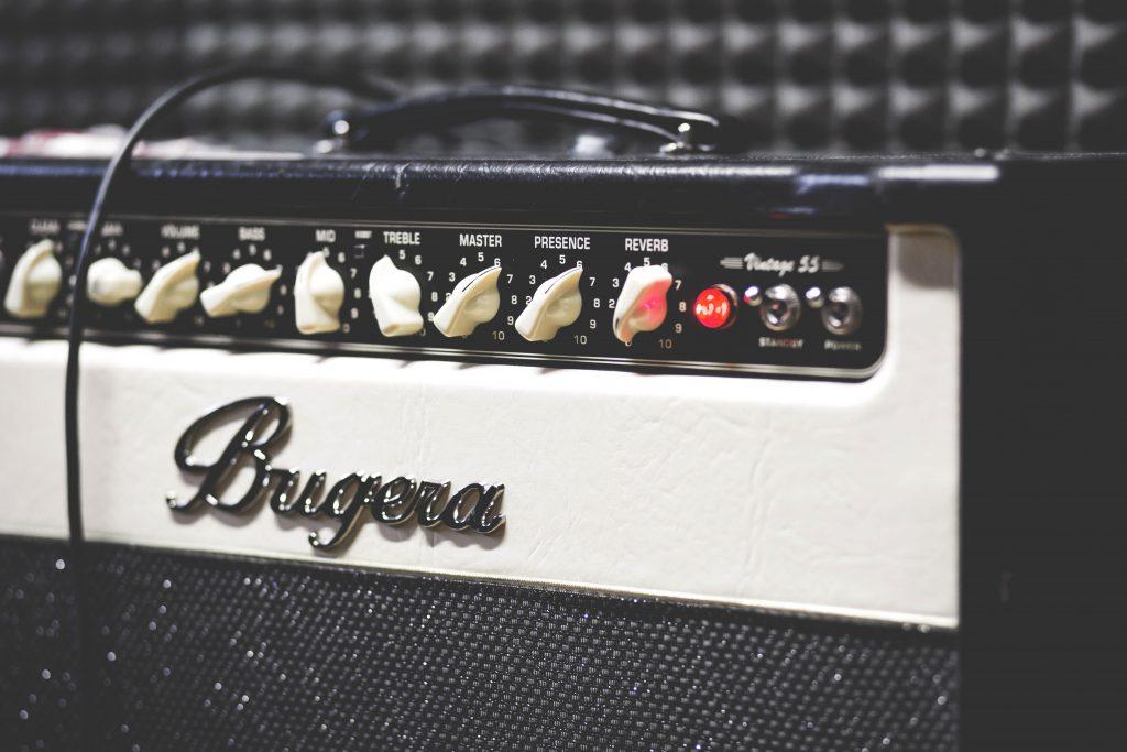 Guitar amp - free stock photo
