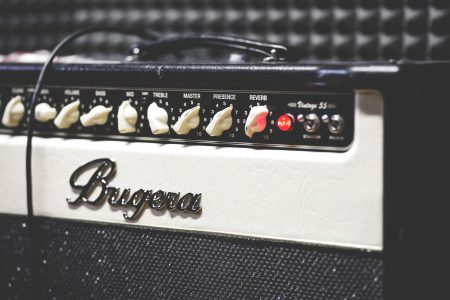Guitar amp - free stock photo