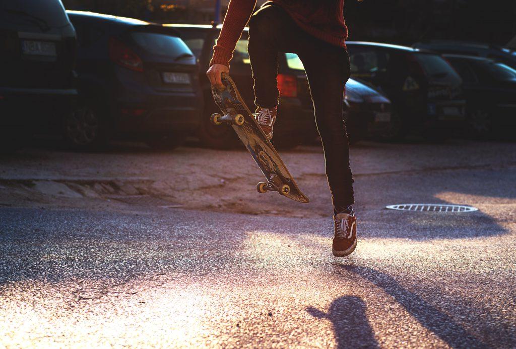 Skateboarding - free stock photo
