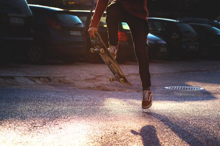 Skateboarding - free stock photo