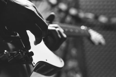 Telecaster player 2 - free stock photo