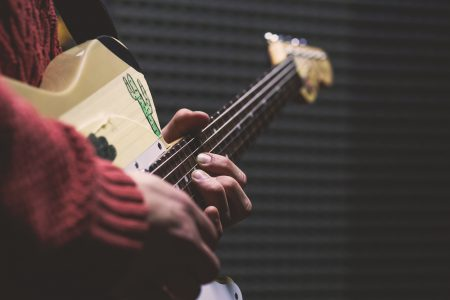 Telecaster player 3 - free stock photo