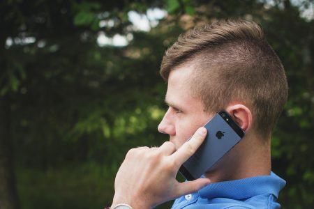 Young man talking on the phone 3 - free stock photo