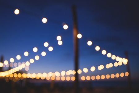 Dreamy lights - free stock photo