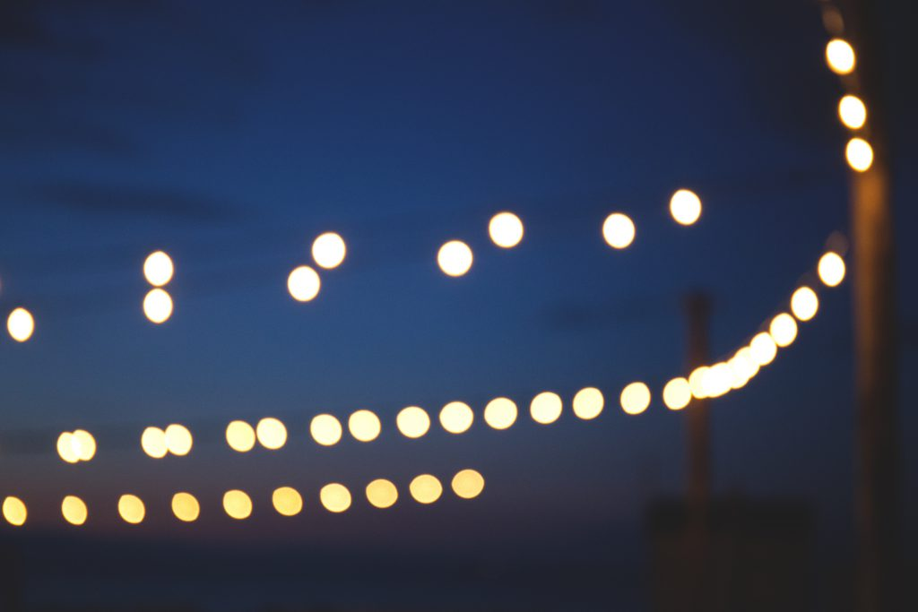 Dreamy lights 2 - free stock photo