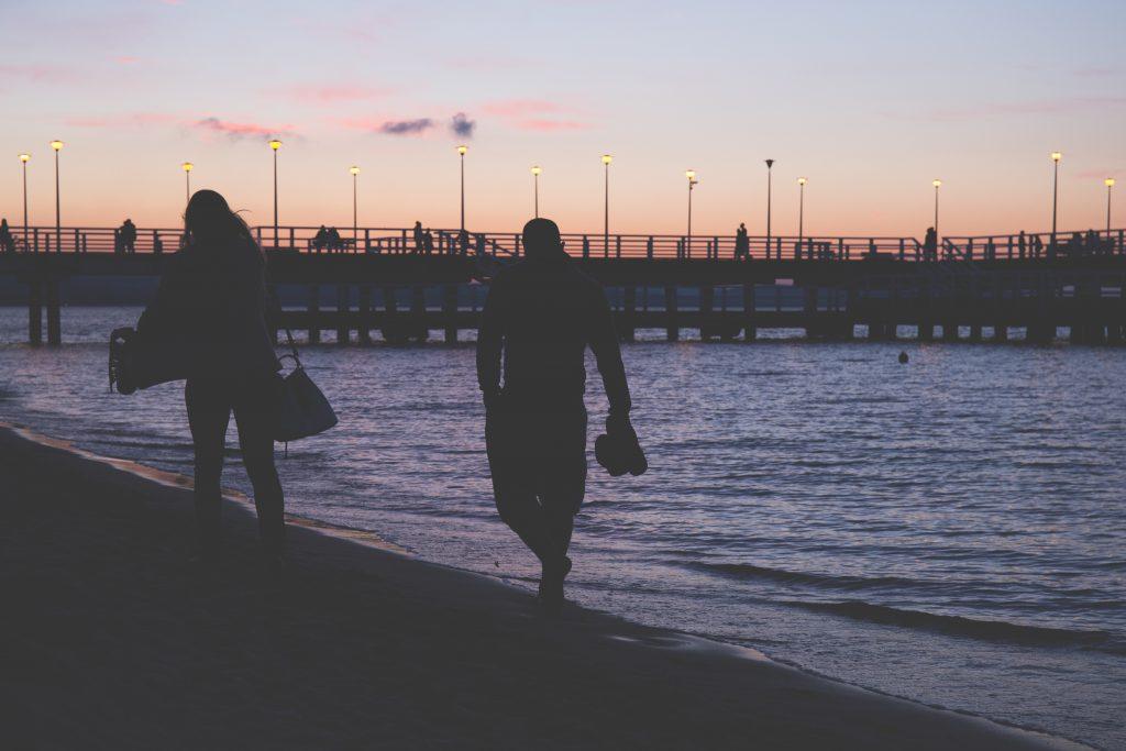 Evening walk - free stock photo