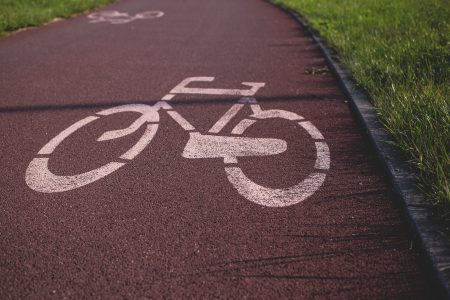 Bike path - free stock photo