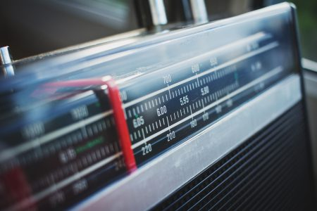 Classic radio receiver - free stock photo