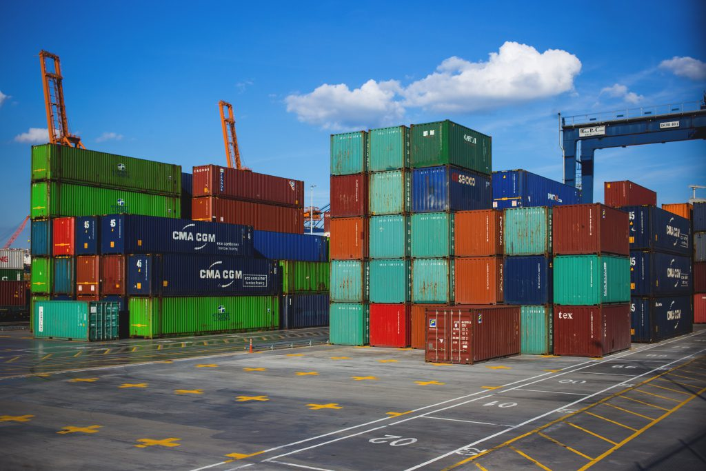 Colorful containers - free stock photo