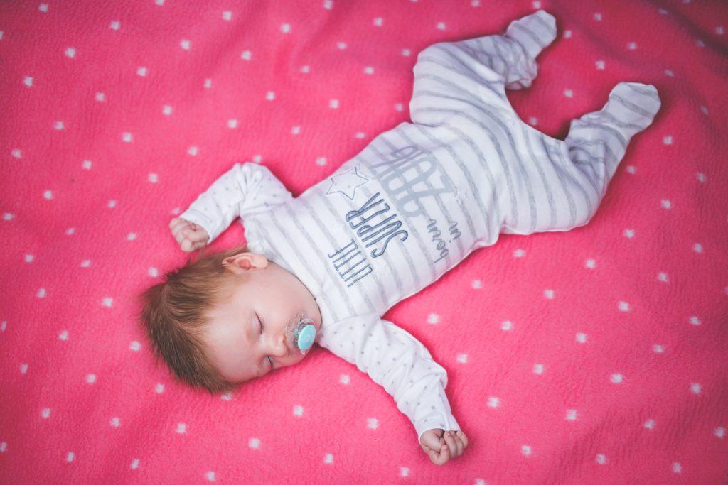 Cute baby sleeping - free stock photo
