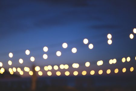 Dreamy lights 3 - free stock photo