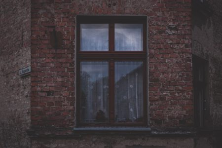 Old brown window - free stock photo