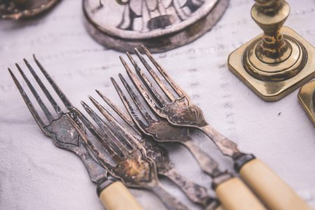 Old forks - free stock photo
