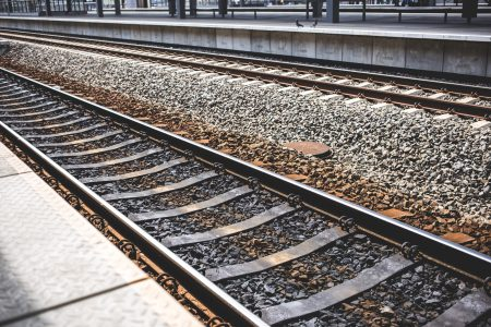 Railroad tracks - free stock photo